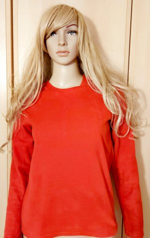Decathlon Pullover in pile rosso