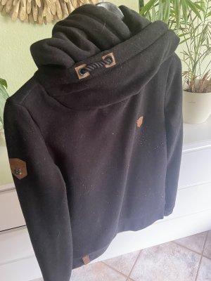 Naketano Pullover in pile nero