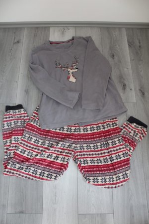Pyjama silver-colored-red