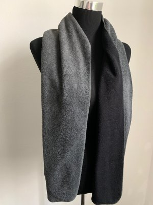 Woolen Scarf black-silver-colored