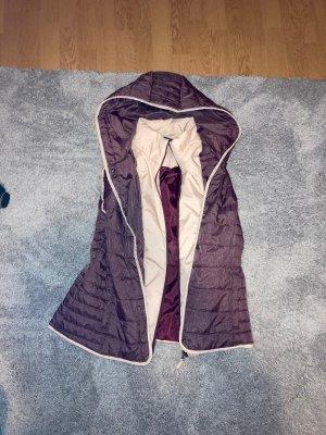 Jeans Pascale Polarowa kamizelka kremowy-brązowo-fioletowy Poliester