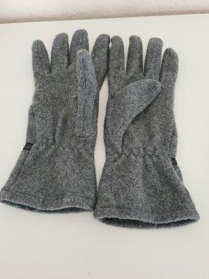 Fleece handschoenen grijs