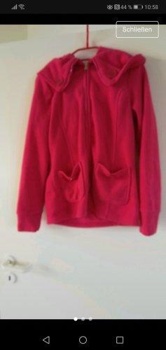 Fleece Jackets neon red-pink