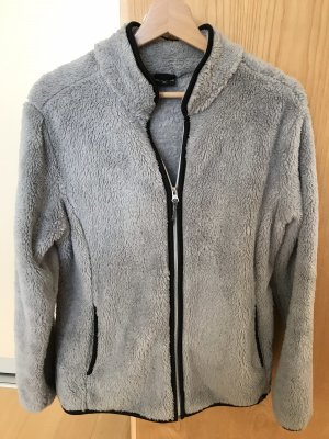 Fleece Jackets grey-black