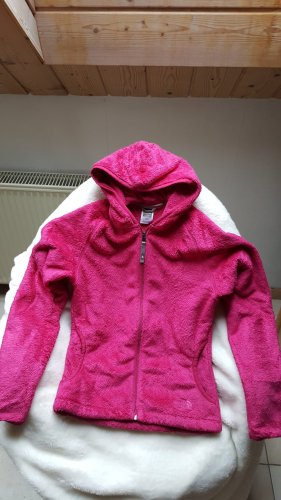 The North Face Chaqueta de forro polar magenta