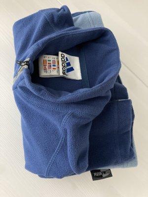 Adidas Kurtka polarowa stalowy niebieski-błękitny