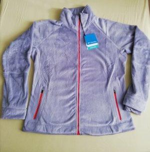 Columbia Fleece Jackets light grey-red