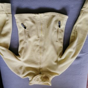 Bench Fleece Jackets primrose-pale yellow