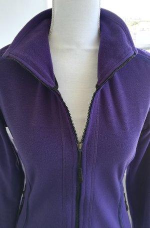 Allsport Veste polaire violet foncé tissu mixte