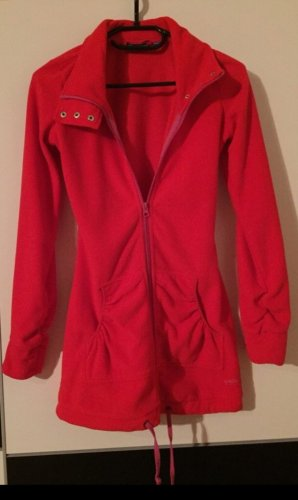 vacuum Veste polaire rouge framboise-rouge polyester