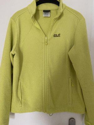 Jack Wolfskin Fleece Jackets neon yellow