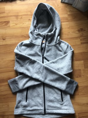 H&M Fleece Jackets silver-colored-light grey