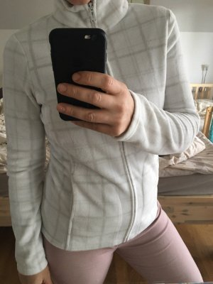 C&A Fleece Jackets white-light grey