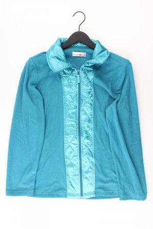 Veste polaire turquoise polyester