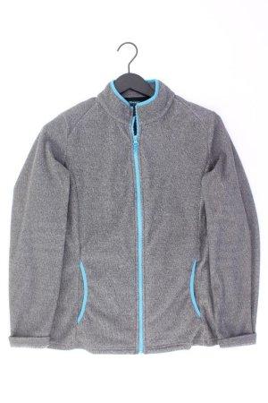 Fleecejacke Größe L grau aus Polyester