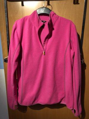 H&M Sport Fleece Jackets pink-neon pink