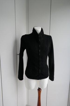 Esprit Fleece jack zwart Polyester