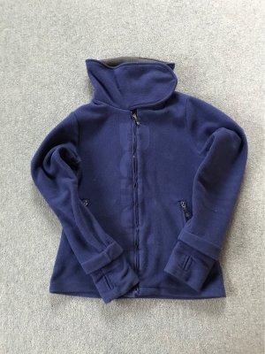 Fleecejacke - marineblau
