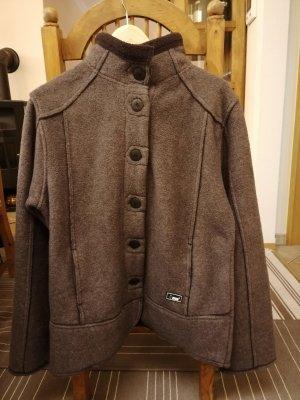 Fleece Jackets dark grey polyester