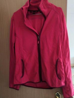 active Fleece Jackets raspberry-red