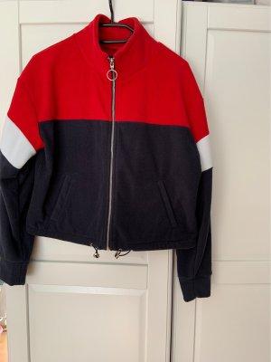 New Look Fleece Jackets red-blue
