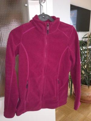 Tchibo / TCM Fleece Jackets raspberry-red