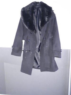 Manteau polaire noir