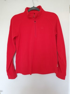 Pullover in pile rosso