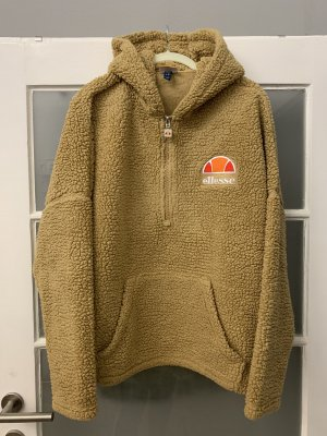 Ellesse Pullover in pile color cammello