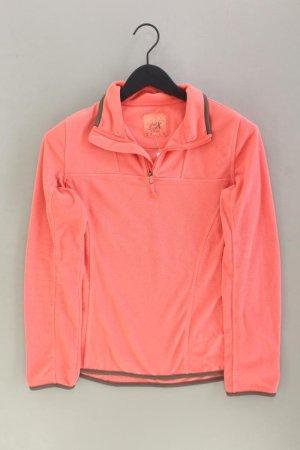 Polarowy sweter stary róż-różany-jasny różowy-różowy Poliester