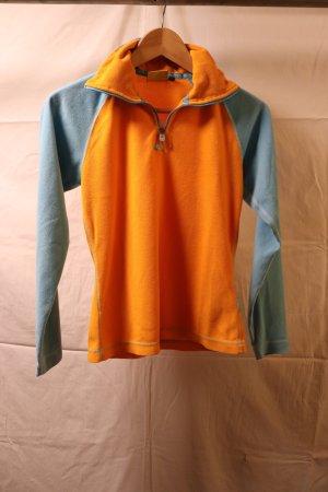 ONEILL Pullover in pile azzurro-arancione