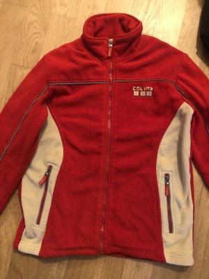 Colins Fleece Jumper beige-red