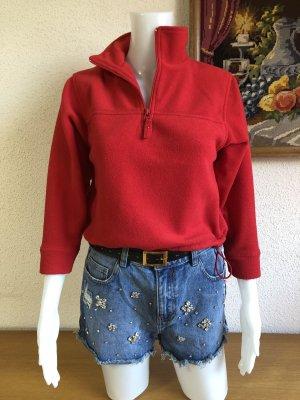Fleecepullover Pulli Pullover Sweatshirt Kragen Gr.S