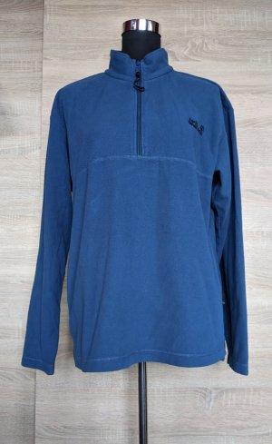 Jack Wolfskin Fleece Jumper steel blue