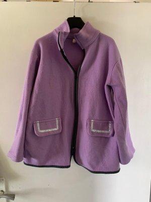 Fleece vest lila