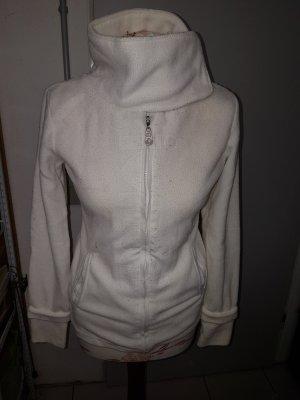 Madonna Fleece vest wit