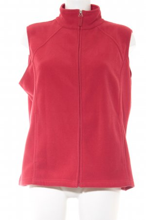 Fleece Vest red