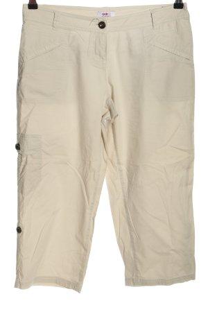 FLG Spodnie Capri w kolorze białej wełny W stylu casual