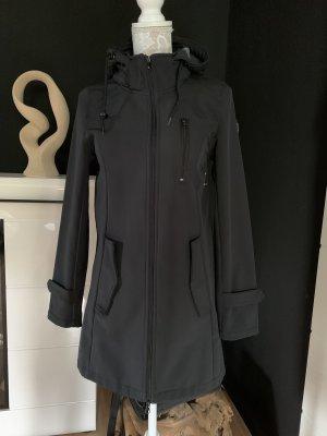 FLG Softshelljack zwart Polyester