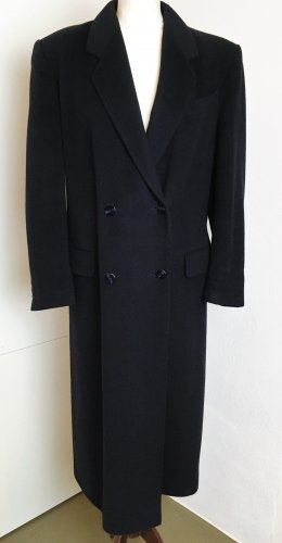 Flick Wool Coat dark blue cashmere