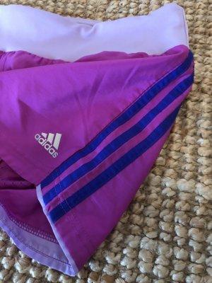 Adidas Szorty sportowe fioletowy-liliowy