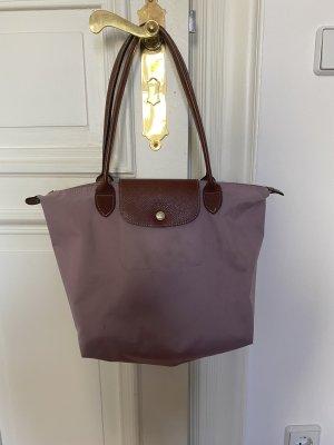 Flieder Longchamp Tasche