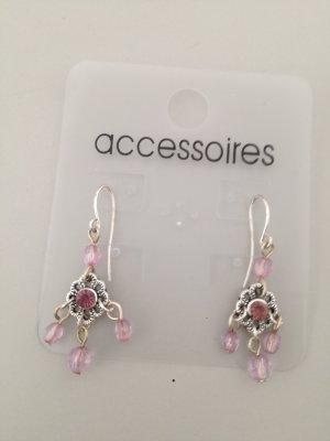 Accessoires Statement Earrings silver-colored-mauve
