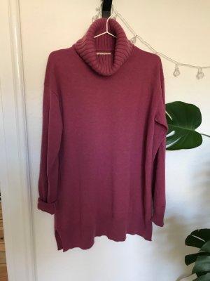 Fliederfarbener Cashmere Pullover von Falconeri