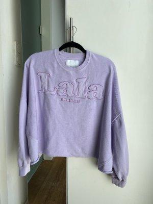 Fliederfarbener LaLa Berlin Sweater