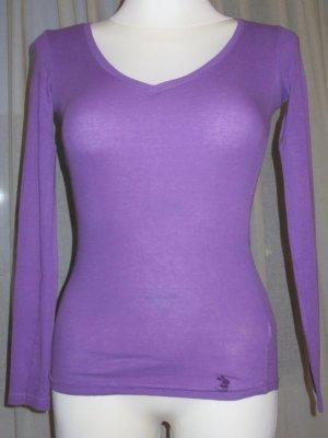 Tally Weijl Haut basique lilas-violet coton