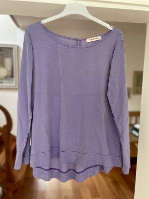 Funky Staff Blouse Shirt purple viscose