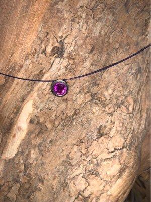 Pierre Lang Colliers ras du cou violet foncé-violet