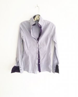 fliederfarbenes shirt / bluse / hemdbluse / vintage / lila / purple / businesslook