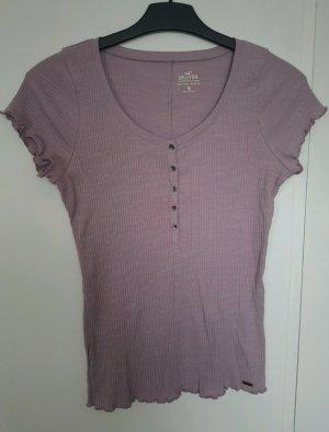 Fliederfarbenes T Shirt